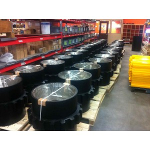 Driving wheels with high-performance polyurethane