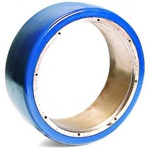 Tread mill truck wheels